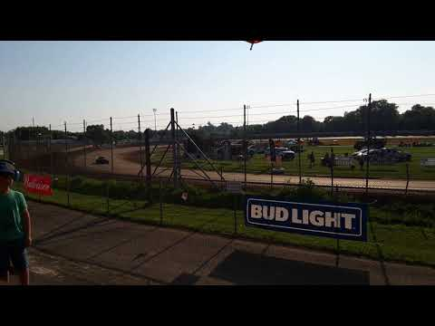 Legends Heat 1-Angell Park Speedway- Pepsi Nationals 7/7/2019
