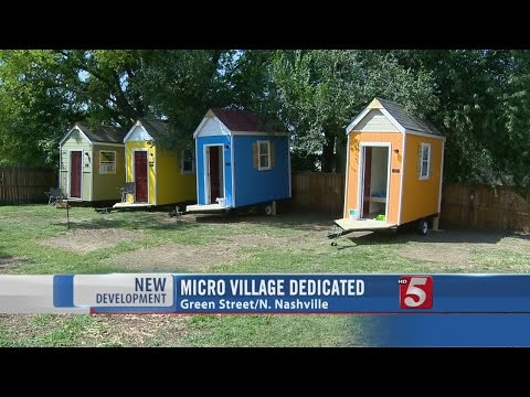 Village Dedicated In North Nashville To Micro Homes
