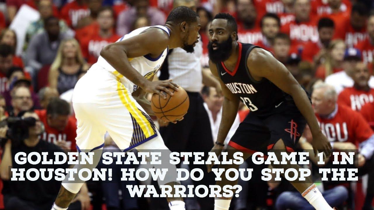 NBA Playoffs 2018 Warriors Beat Rockets In Game 1 Is