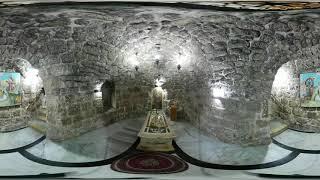 St George Tomb 360 degree video @Lod, Israel