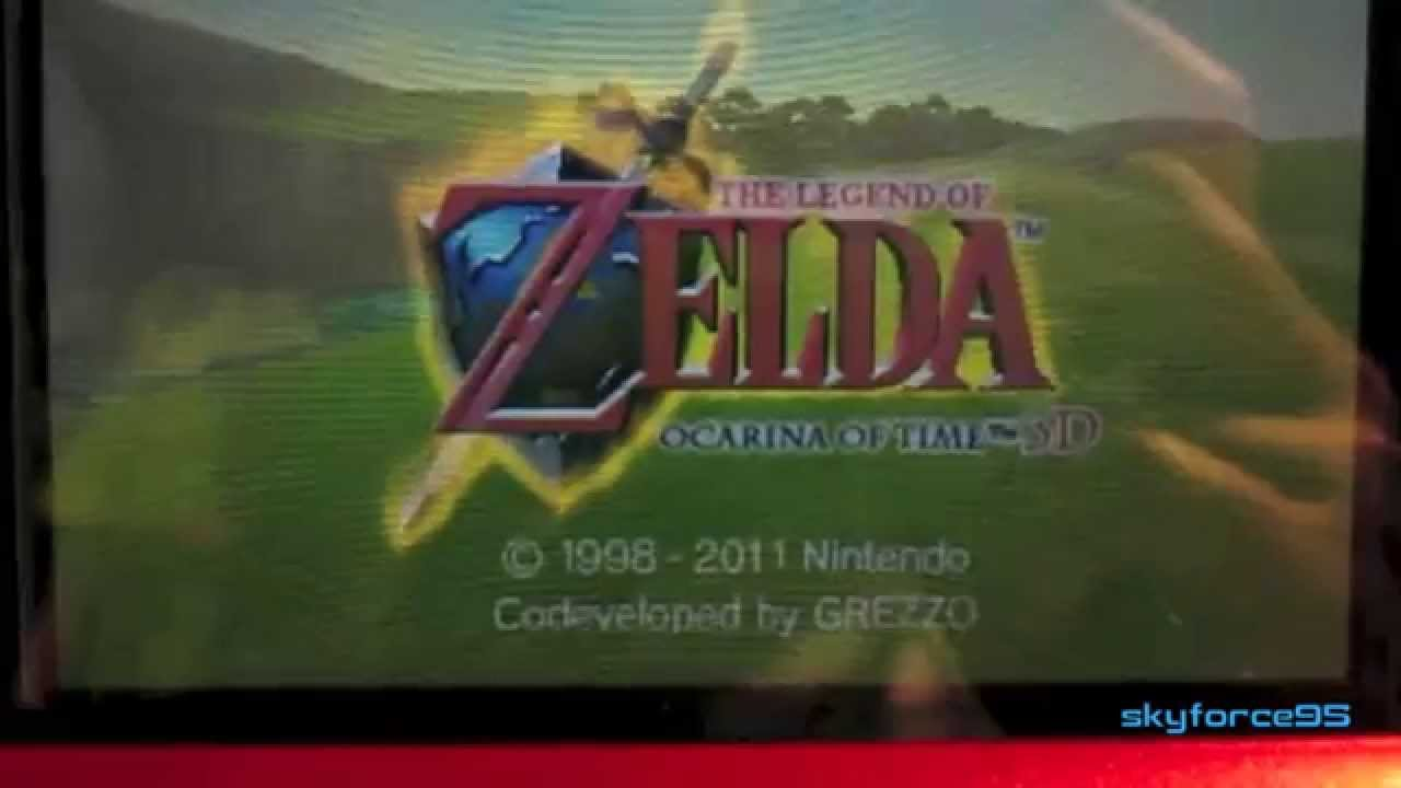 Downloading The Legend of Zelda: Ocarina of Time 3D