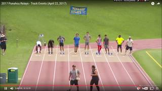Hawaii's Fastest Human Race 2017