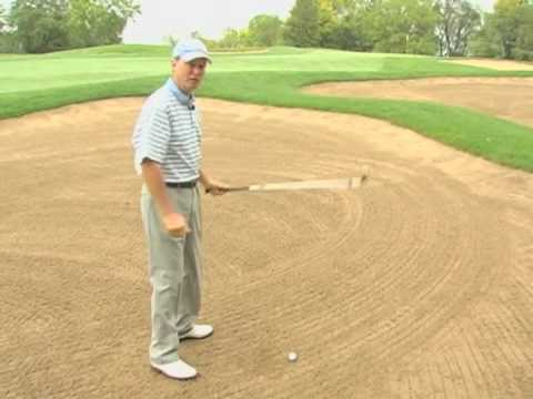 how to hit a long bunker shot