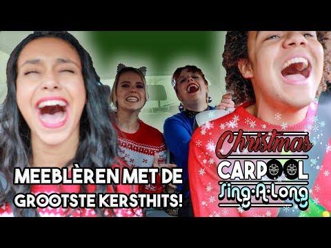 "Christmas Carpool Karaoke | VALSTE ""ALL I WANT FOR CHRISTMAS"" OOIT! & HELLE HAAR AUTO ONGELUK! 🎅🏻🎄"