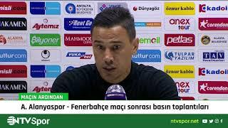 Fenerbahçe teknik direktörü Emre Belözoğlu ve Alanyaspor hocası Çağdaş Atan'ın maç sonu açıklamaları