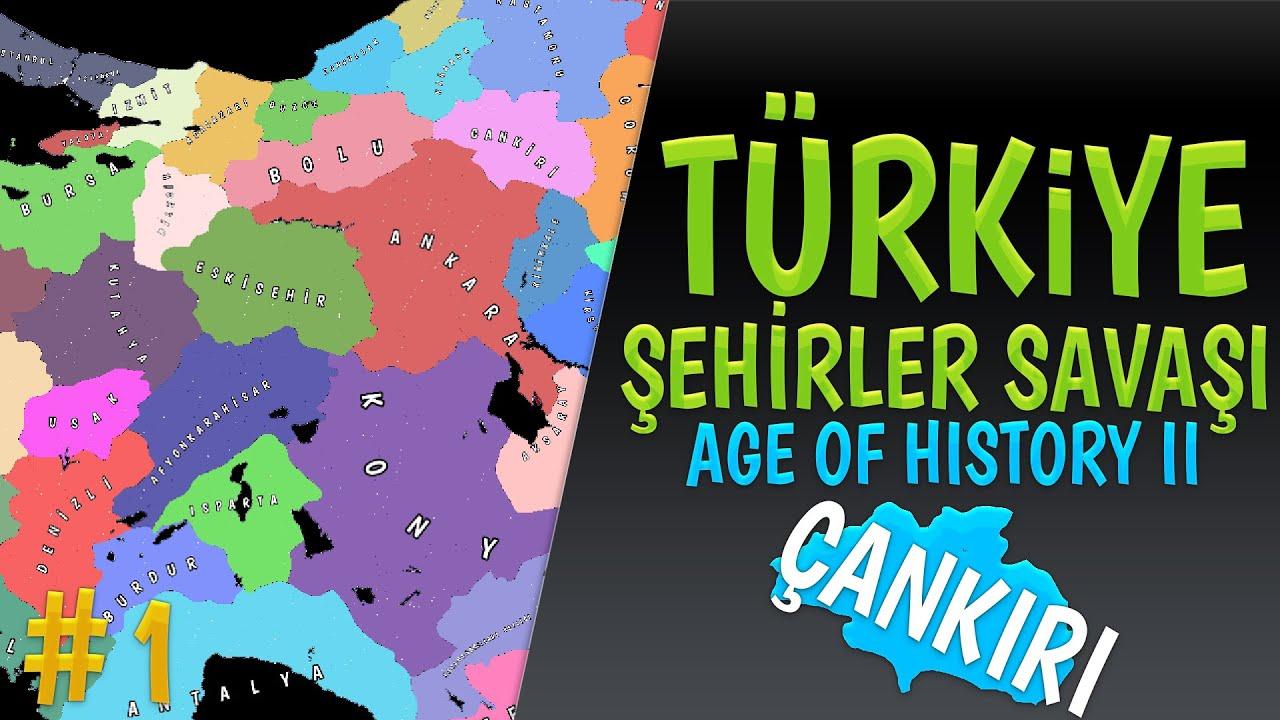 YENİ SERİ / TÜRKİYE ŞEHİRLER SAVAŞI - Age of History 2 // BÖLÜM 1