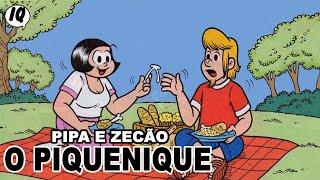 Pipa e Zecão - O pequenique - História em quadrinhos da Turma da Mônica