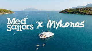 SAIL GREECE X MYKONOS   Drone, GoPro, Knekt HD