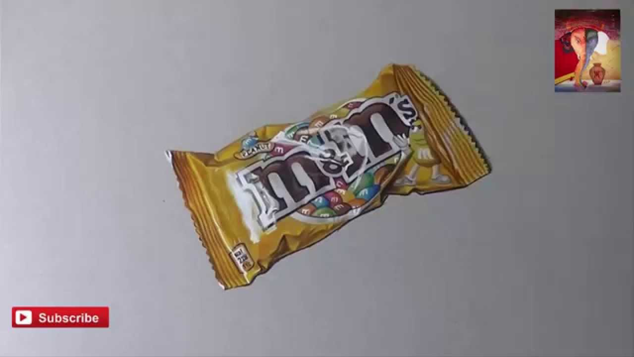 It is a picture of Eloquent M&m Drawing