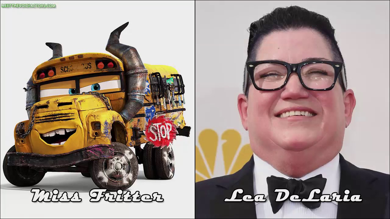 cars 3 characters voice actors youtube