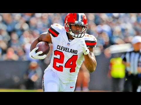 Nick Chubb Official NFL Rookie Highlights || HD
