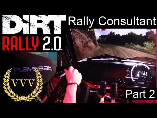 Dirt Rally 2.0 Part 2: Rally Consultant Interview and Gameplay