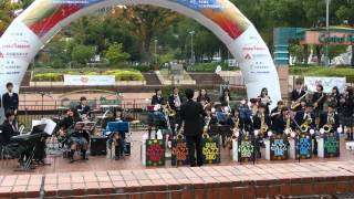 [4K] 愛知中学高校吹奏楽団 @ 栄まちじゅう音楽広場 2015