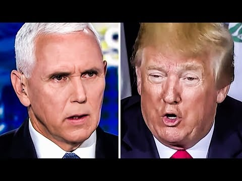 Trump Throws Pence Under The Bus And Says HIS Calls Should Be Released
