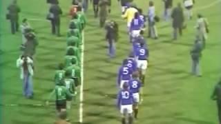 ASSE 2-0 Glasgow Rangers - 8e de finale aller de la Coupe d'Europe 1975-1976