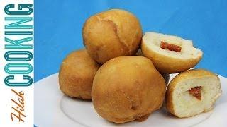 Sicilian Fried Dough Balls! Christmas Appetizer