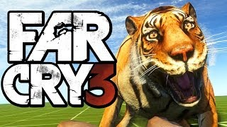 Far Cry 3 Funny Moments (Hunting Rare Animals, Liberating Outposts, Map Editor)