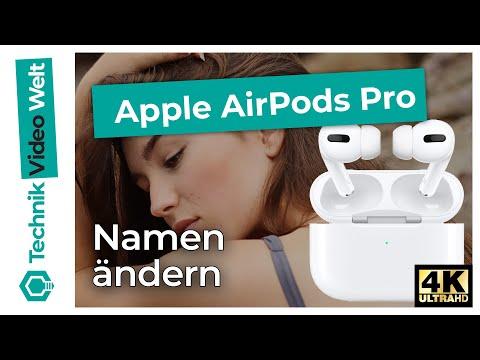 AirPods Pro Namen ändern