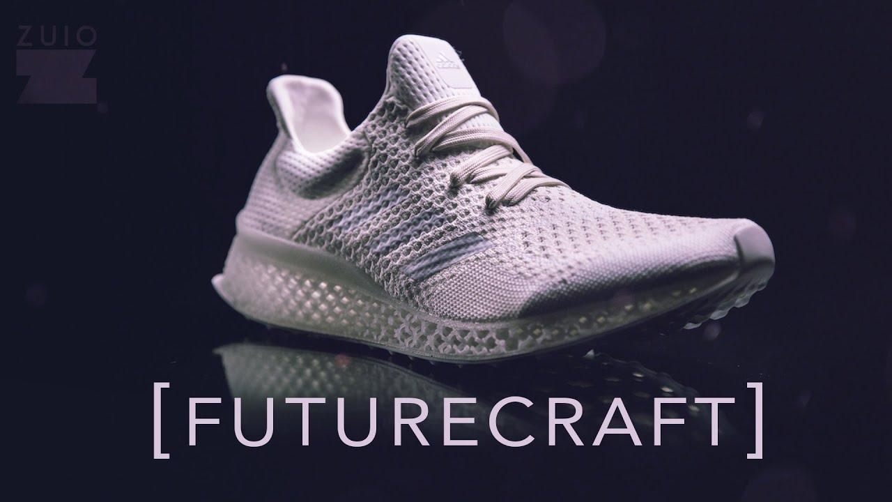 esclusiva adidas futurecraft 3d prototipo revisione su youtube