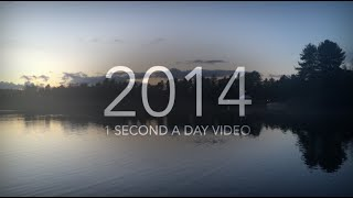1 Second Video a Day Challenge 2014 (1 Second Everyday)