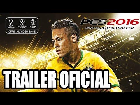 PES 2016 Trailer oficial - Pro Evolution Soccer 2016