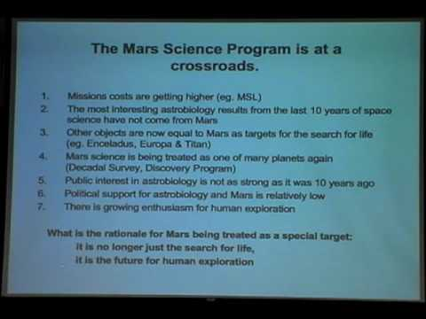 1 of 4  Dr  Chris McKay on possible steps to human exploration of Mars