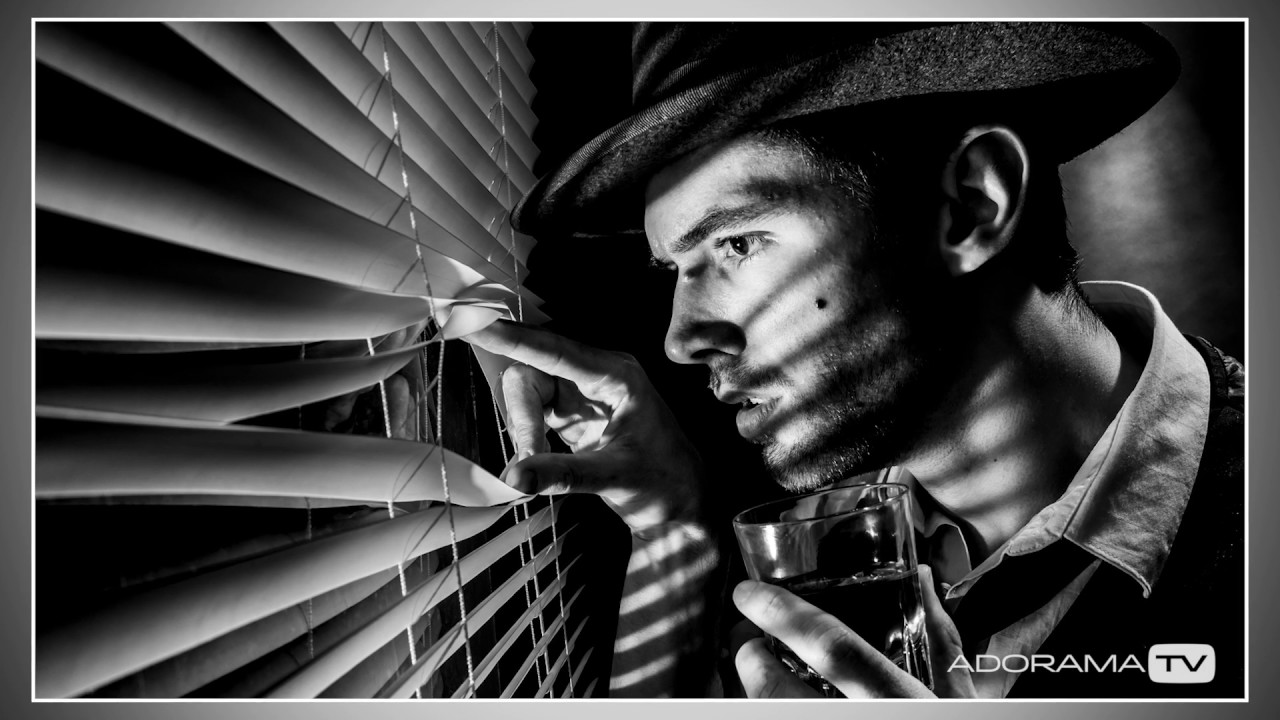 Film noir portrait shoot take and make great photography with gavin hoey
