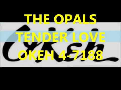 THE OPALS - TENDER LOVE - OKEH 4 -7188