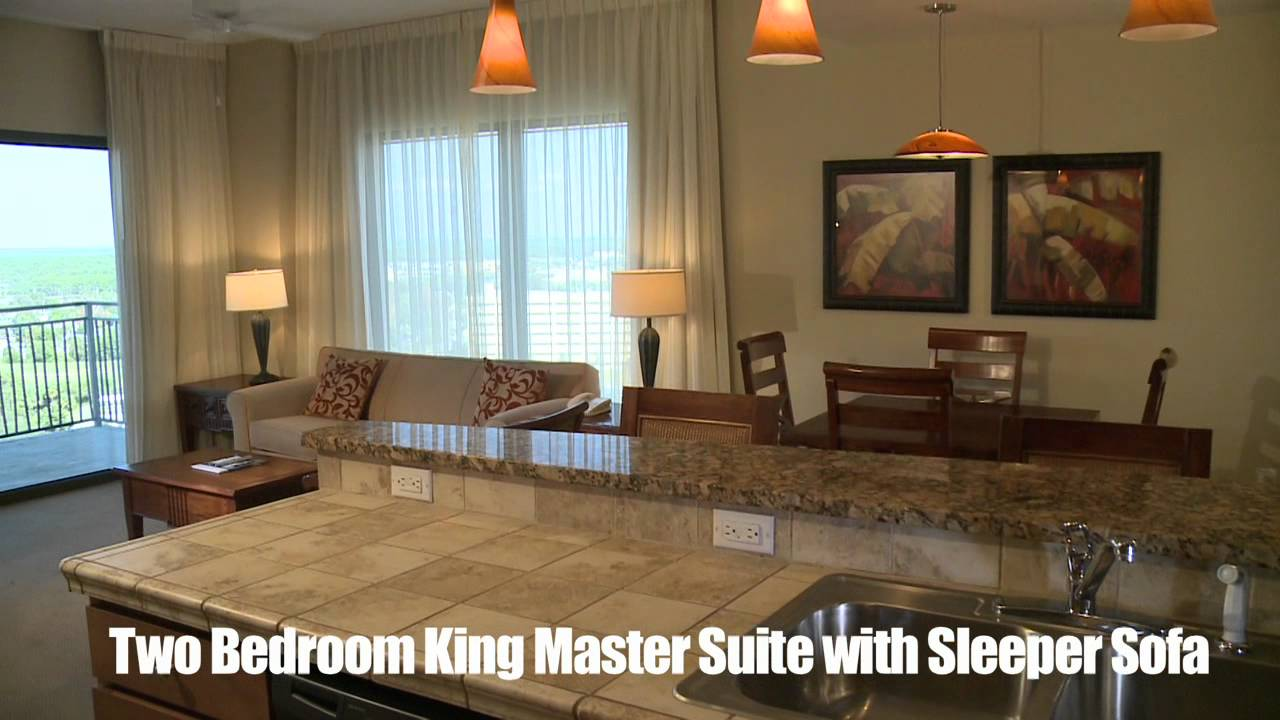 Origin At Seahaven Beach View Two Bedroom King Master Suite With Sleeper Sofa Youtube