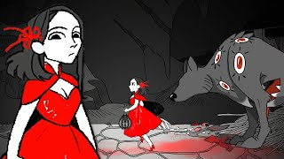 Little Red Lie - The Dark Truth Of Little Red Riding Hood ( ALL ENDINGS )