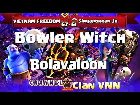 VietNam FreeDom vs Singaporean JR  TH11   3 Stars War   Bolavaloon, BoWitch   Clan VNN #65