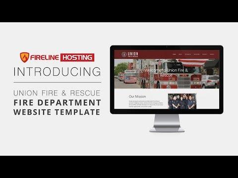 Fire Department Website Template - Union Fire & Rescue Demo