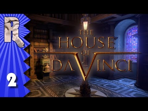 Let's Play The House of Da Vinci - 2 - Globe of Stupidity