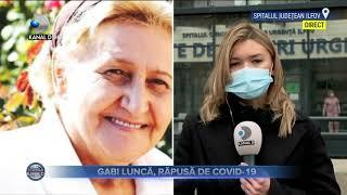 Stirile Kanal D (03.04.2021) - Gabi Lunca s-a stins din viata, rapusa de COVID-19 | Editie de pranz