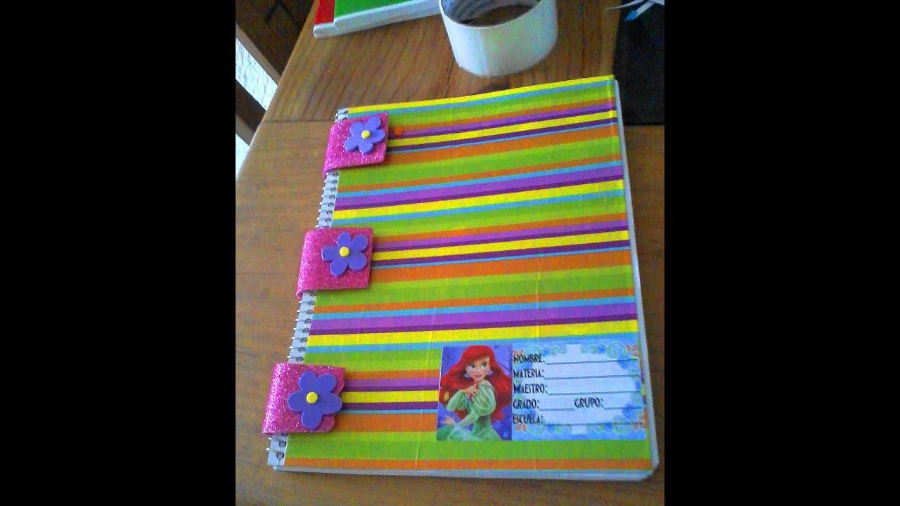 Ideas de como forrar libros y libretas models as - Libros para decorar ...