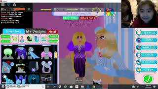 My first Roblox video — Making all the princesses-part 1