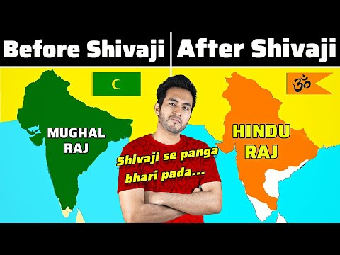 कैसे MUGHALS को INDIA से भगाया SHIVAJI MAHARAJ ने   How Shivaji Maharaj Defeated the Mughals