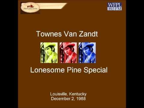 Townes Van Zandt December 2, 1988 Moritz von Bomhard Theater, Kentucky Center for the Performing Art