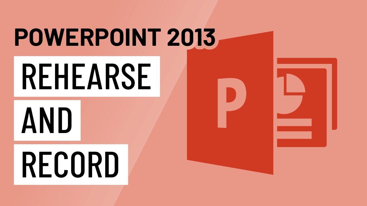 PowerPoint 2013: Advanced Presentation Options