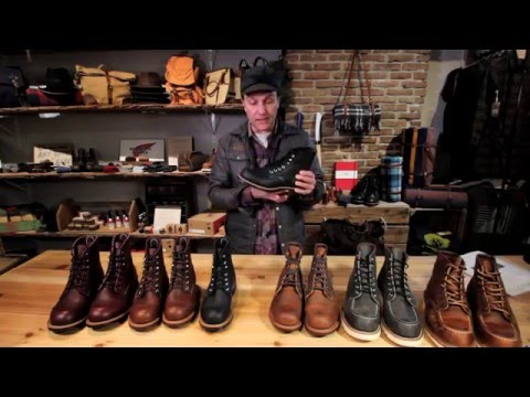 Doug Harris loves Red Wing Heritage Boots!