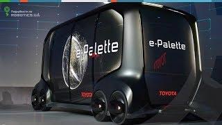 Концепт дрона Toyota e-Palette для бизнеса (Robotics.ua)
