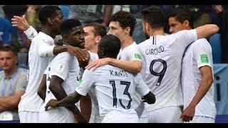 La France en demi-finale du Mondial-2018 (2-0 face à l'Uruguay)