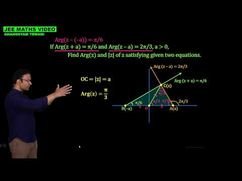 Geometry with complex numbers | Argument of complex numbers