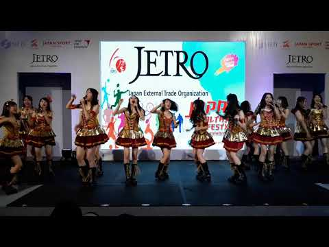 JKT48 Team KIII @ JETRO, Japan Healthy Lifestyle Exhibition (Part 1/3)