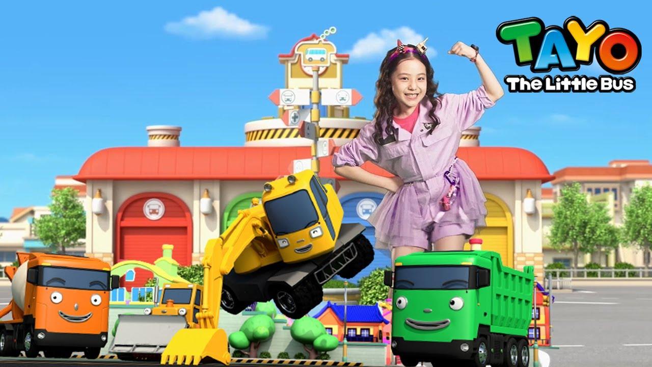 #BILLYPOCO Kids Dance Tutorial l BILLY POCO (Heavy Vehicles Ver.) l Tayo Bus Dance Along