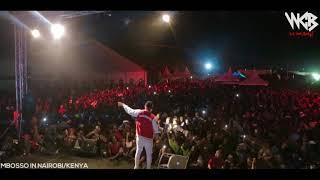 MBOSSO live perfomance Picha yake Nairobi-Kenya