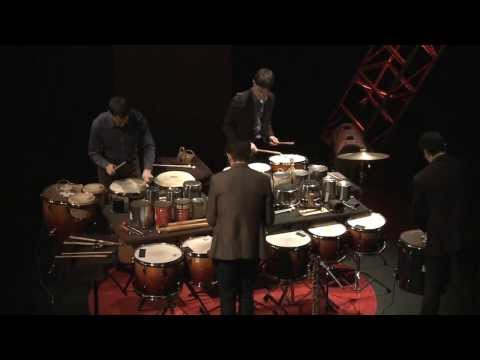 Never Compromise. Collaborate: Third Coast Percussion at TEDxUND