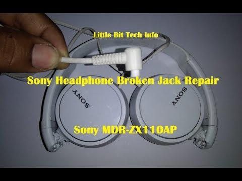 sony broken headphone jack repair headphone repair youtube Apple Headphone Jack Wiring
