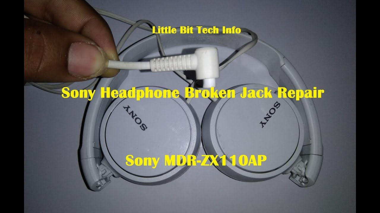 sony broken headphone jack repair headphone repair youtube. Black Bedroom Furniture Sets. Home Design Ideas