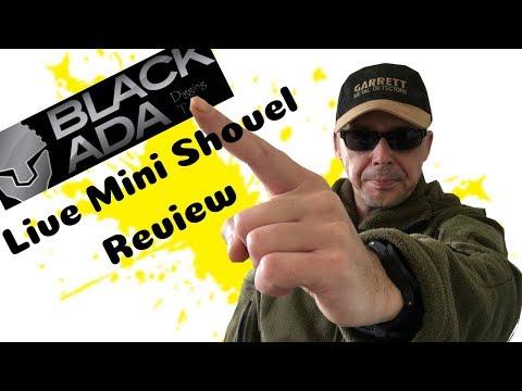 Black Ada Mini Shovel Review. Del's Style.Metal Detecting Uk